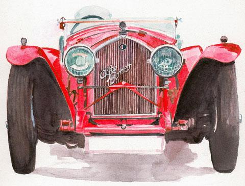 Marca de coches Alfa Romeo