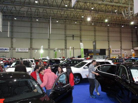 El Salón del Automóvil de Lugo 2019, acogió a más de 20.000 personas.