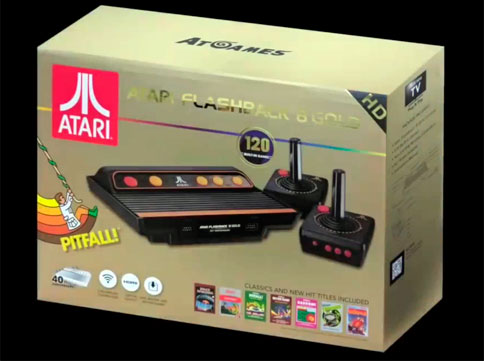 Pack Atari Flashback 8 Gold