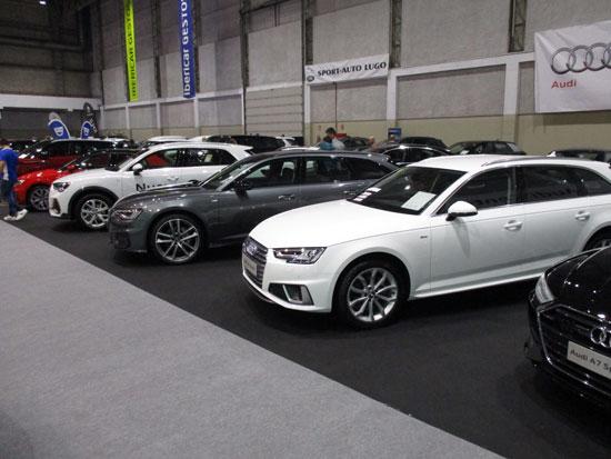 Audi en el Salón del Automóvil de Lugo 2019.