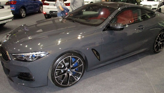 Lateral del BMW Serie 8 Coupé