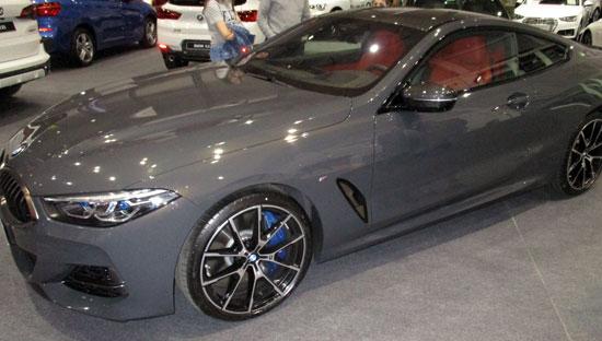 Lateral del BMW Serie 8 Coupé