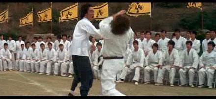 Bruce Lee en Operación Dragón