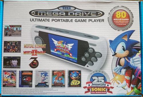 Pack Consola Retro Mega Drive Ultimate Portátil