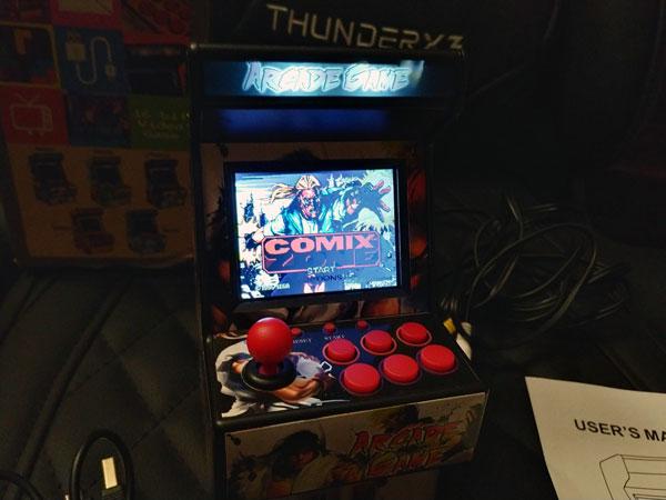 Consola Retro Mini Arcade: New Street Fighter Home Arcade: Características principales