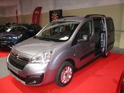 Citroën Berlingo en el Salón del Automóvil de Lugo