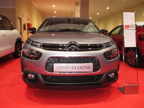 Citroën C4 Cactus, parte frontal.