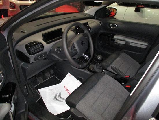 Cuadro de mandos del Citroën C4 Cactus.
