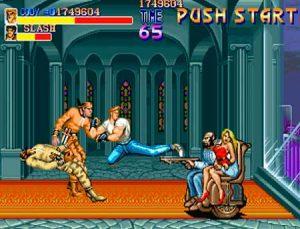 Cody contra Horace Beger el final de Final Fight