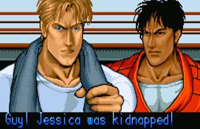 Cody y Guy, dos de los protagonistas de Final Fight