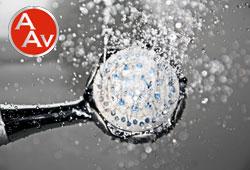 Indicaciones para ducharse en agua fría.