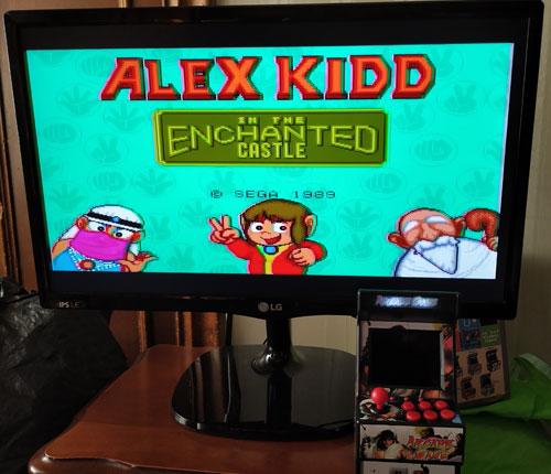 Conectar a la TV la New Street Fighter Home Arcade.
