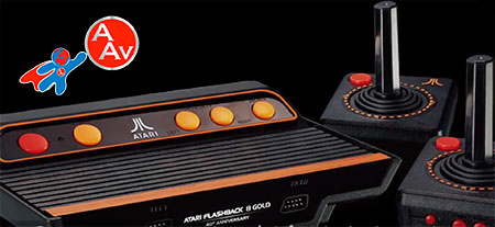 Atari Flashback 8 Gold Activision Edition