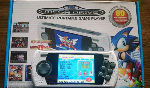 Consola Retro Mega Drive Ultimate Portátil
