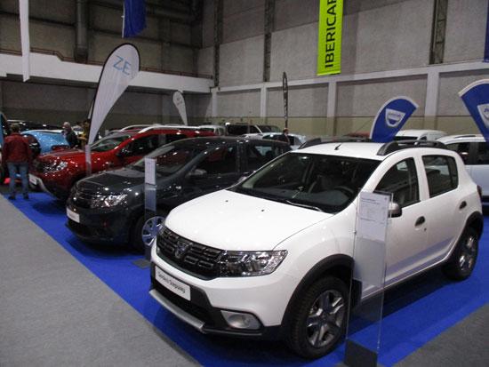 DACIA en el Salón del Automóvil de Lugo 2019.