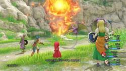 Combates en Dragon Quest XI