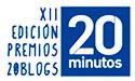 Alumno Aventajado Participa en la XII Edición de los Premios 20Blogs