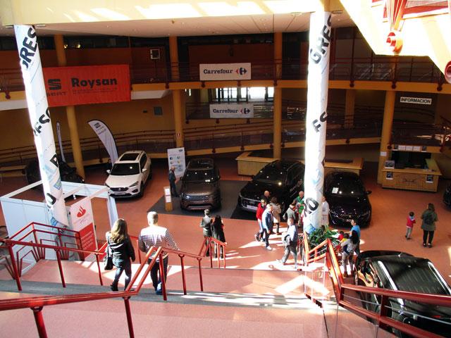 Entrada al Salón del Automóvil de Lugo en el Palacio de Ferias y Congresos de Lugo.