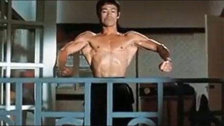 Sistema de entrenamiento del actor Bruce Lee