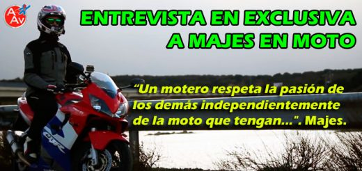 Entrevista a Majes en Moto