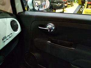 Fiat 500, interior