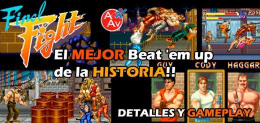 Final Fight: El mejor Beat 'em up de la Historia de los Videojuegos