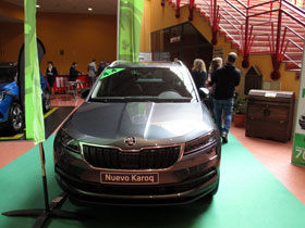 El Nuevo Skoda Karoq en el Salón del Automóvil de Lugo 2018
