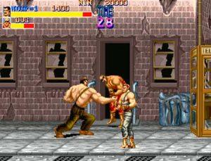 Haggar luchando en Final Fight