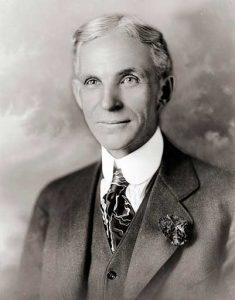 Henry Ford fue el fundador de la compañía Ford Motor Company.