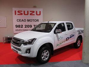 ISUZU D-MAX en el Salón del Automóvil de Lugo 2018