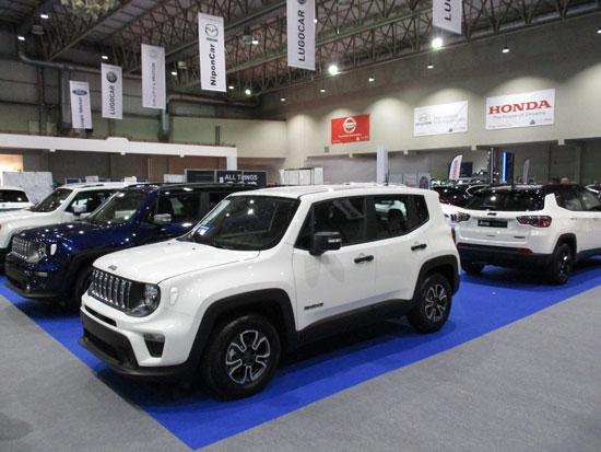 Jeep Renegade en el Salón del Automóvil de Lugo 2019.