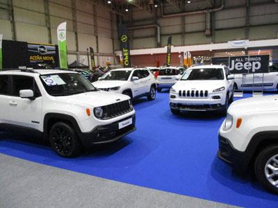 Jeep en el Salón del Salón del Automóvil de Lugo 2018