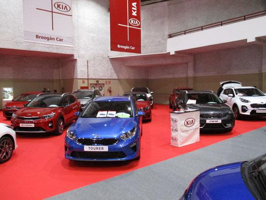 KIA en el Salón del Automóvil de Lugo 2019.