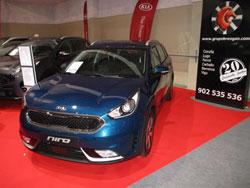 KIA Niro en el Salón del Salón del Automóvil de Lugo 2018