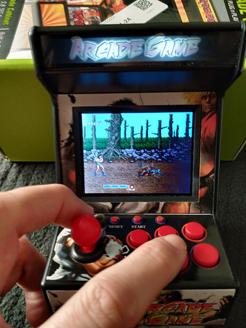 New Street Fighter Home Arcade.