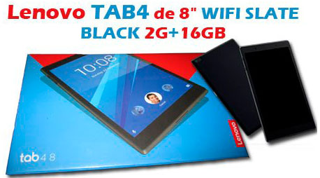"""Sorteo de una Lenovo Tab4 8"""" en el Blog Alumno Aventajado"""