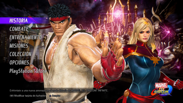 Modos de juego en Marvel vs. Capcom: Infinite