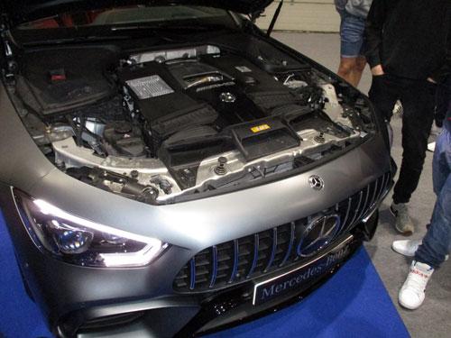 Motor V8 Biturbo del Mercedes-AMG GT Coupé de 4 puertas