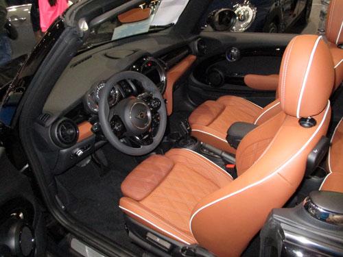 Interior del Mini Cabrio