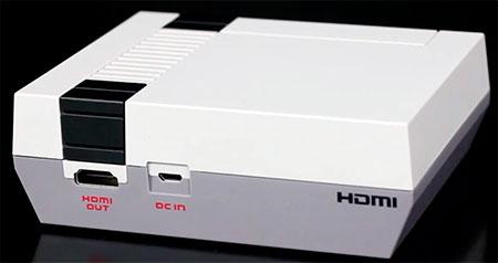 Conexión HDMI NES Mini
