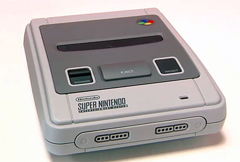 Consola retro Super Nintendo Mini