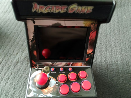 Pantalla de la New Street Fighter Home Arcade.