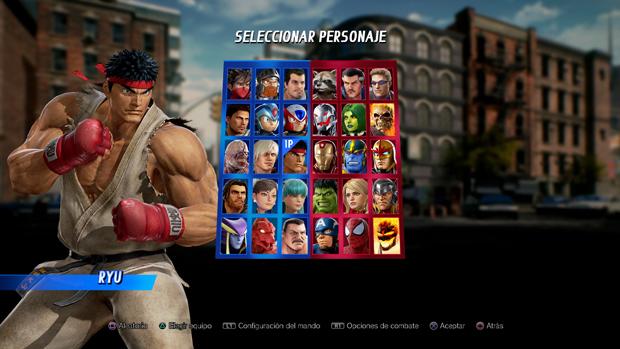 En total podremos seleccionar hasta 36 personajes en Marvel vs. Capcom Infinite
