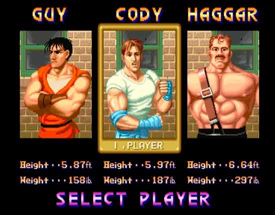 Cada personaje tiene su propio estilo de lucha
