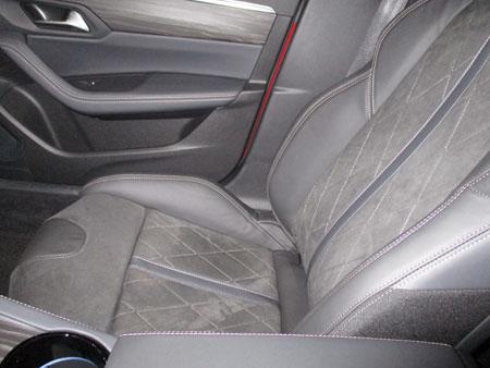 Interior del Peugeot 508