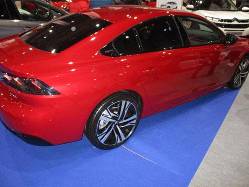 Nuevo Peugeot 508 en el Salón del Automóvil de Lugo 2019.