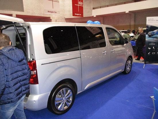 Nueva Peugeot Traveller Combi