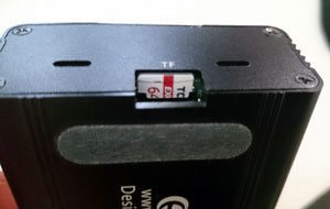 Tarjeta Micro SD en la PlayBox Raspberry pi 3