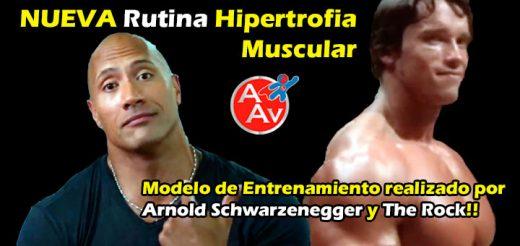Rutina Avanzada para Hipertrofia Muscular
