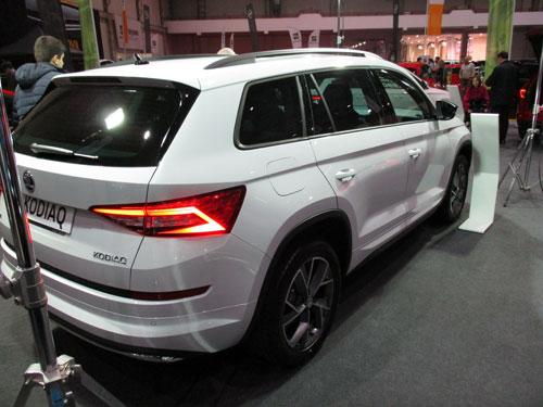 Nuevo ŠKODA Kodiaq en el Salón del Automóvil de Lugo 2019.